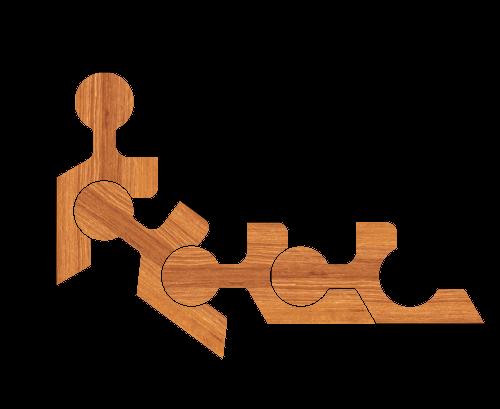 Декоративное подвижное соединение