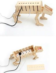 Динозавр для розеток