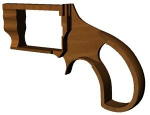 Рамка револьвера.