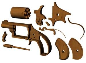 Детали револьвера